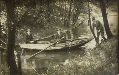 """Nuotrauka """"Šyšos upė Pakalnės kaime"""""""