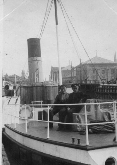 Klaipėda. Laivas Birutė Dangės uoste