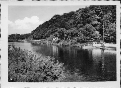 Prieplauka Angrapės (vok. Angerapp) upės krantinėje prie Įsruties