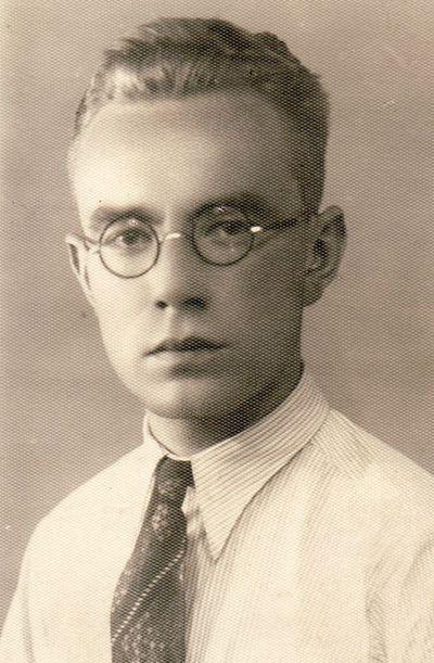 Jono Daugėlos portretas. 1936 m.