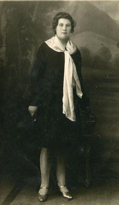 Zarasietė Marytė Stankevičiūtė. 1930 m.