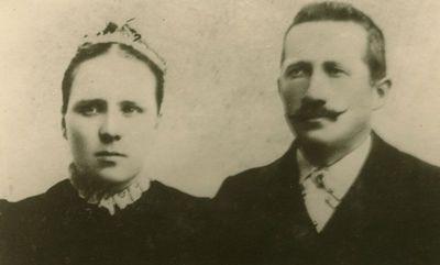 Gražutės Šlapelytės uošviai Ona ir Mykolas Siručiai