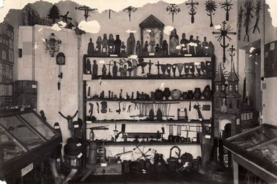 Pirmoji Panevėžio muziejaus ekspozicija