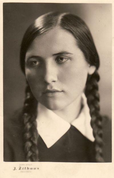 Alės Žitkevičiūtės portretas