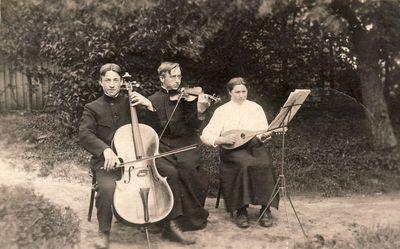 Paulina, Jurgis ir Boleslovas Žitkevičiai