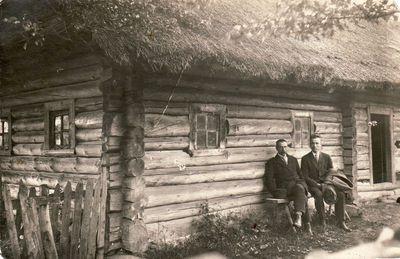 Fotografas Jonas Žitkus su broliu Juozu Žitkevičiumi