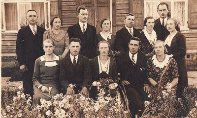 Prastavonių kaimo (Šeduvos vlsč.) jaunimas