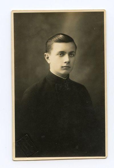 Aloyzo Siručio jaunystės draugas Česlovas