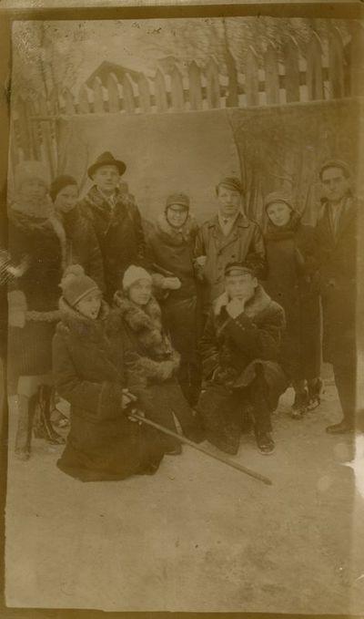 Gražutė su grupe draugų Vilniuje pasitinka Kalėdas