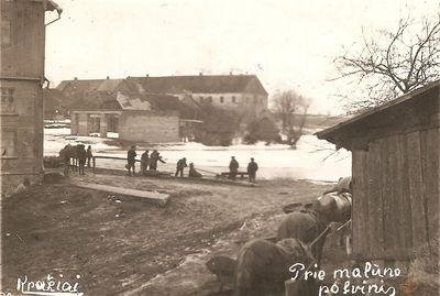 Prie malūno potvynis