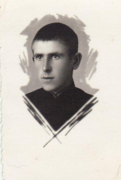 Panevėžio gimnazisto Edvardo Lukoševičiaus portretas