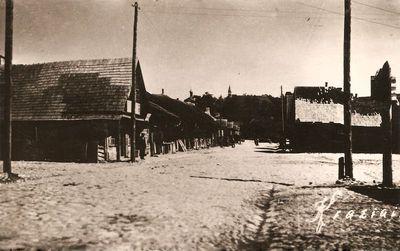 Vytauto gatvė, vedanti į Vytauto kalną