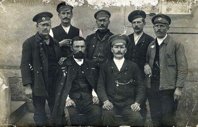 Rusijos kariuomenės kariai karo belaisviai Vokietijoje