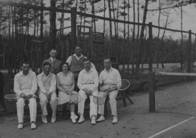 Klaipėdos sporto sąjungos (KSS) lauko teniso sekcijos nariai