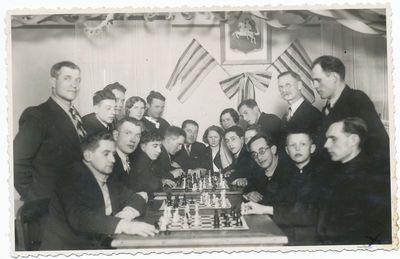 Stasys Lukoševičius su draugais
