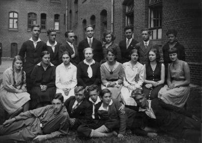 Klaipėdos krašto mokytojų seminarijos studentai