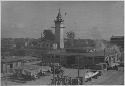 Klaipėdos uosto teritorija prie Locmanų bokšto