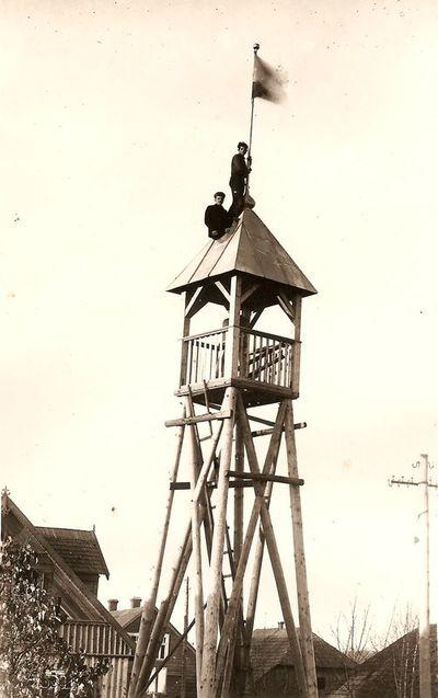 Gaisrinės signalinis bokštas