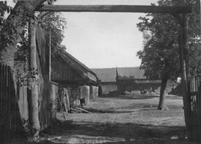 Lietuviška sodyba prie Šešupės
