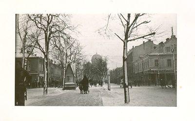 Laisvės alėja žiemą. Kaunas
