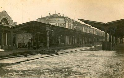 Senosios Kauno geležinkelio stoties peronas