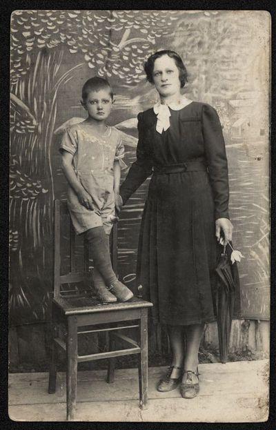 Moteris su vaiku