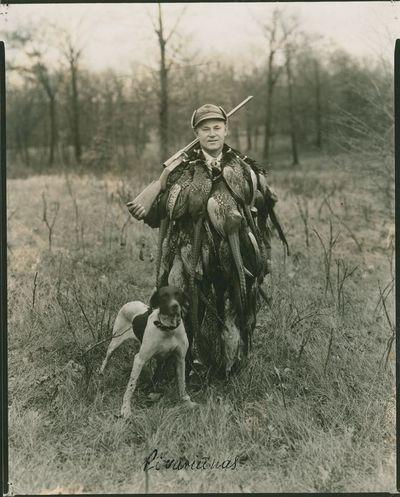 Amerikos lietuvis medžiotojas Pivariūnas