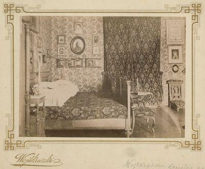 Vaitkuškio dvaro miegamasis kambarys