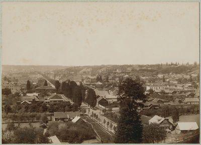 Kauno naujamiesčio panorama