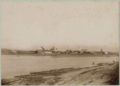 Kauno senamiesčio panorama nuo dešiniojo Neries kranto