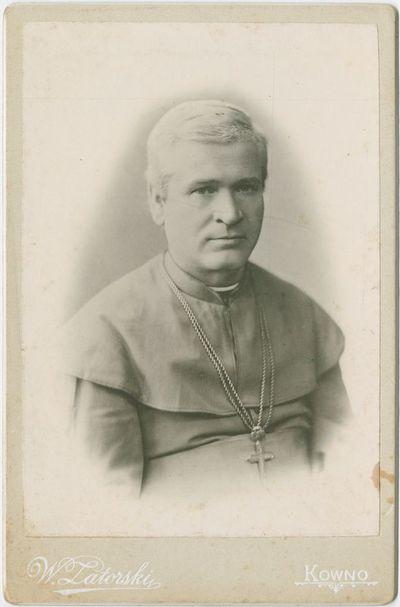 Vyskupo Antano Baranausko portretas