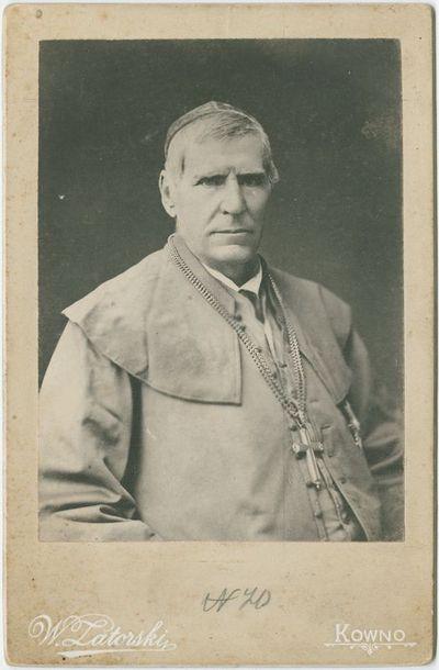Vyskupo Motiejaus Valančiaus portretas
