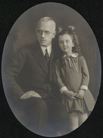 Jurgis Šaulys su dukra