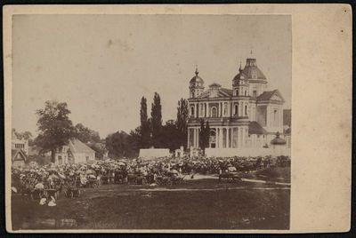Petrinių mugė prie Vilniaus Šv. apaštalų Petro ir Povilo bažnyčios