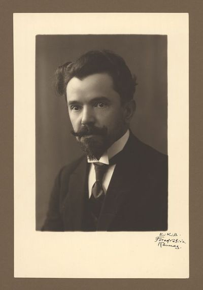 Mykolo Krupavičiaus portretas