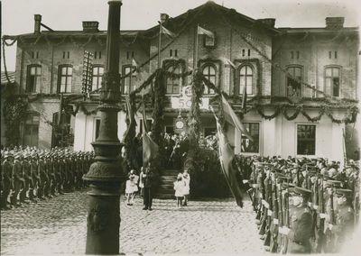 Iškilmingas Vytauto Didžiojo paveikslo sutikimas Klaipėdoje
