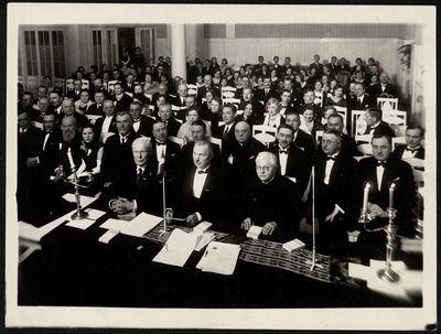 Lietuvių-latvių vienybės draugijos 10-ties metų minėjimo darbo posėdis Rygoje