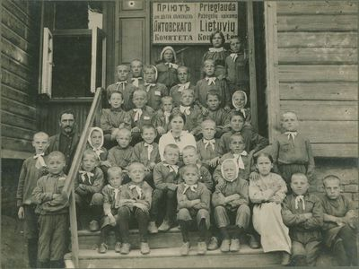 Lietuvių komiteto pabėgėlių vaikų prieglauda Rusijoje