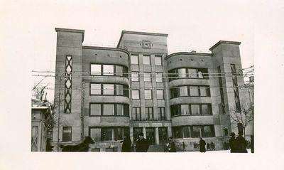 Centrinio pašto rūmai.  Kaunas
