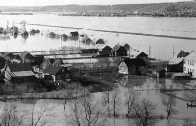 Potvynis Marvelėje. Kaunas