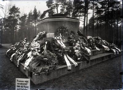 Klaipėda. Paminklas Pirmajame pasauliniame kare žuvusiems kariams