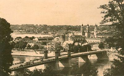 Kauno panorama iš Aleksoto pusės