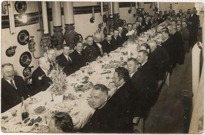 Marijampolės cukraus fabriko atidarymas 1931 m.