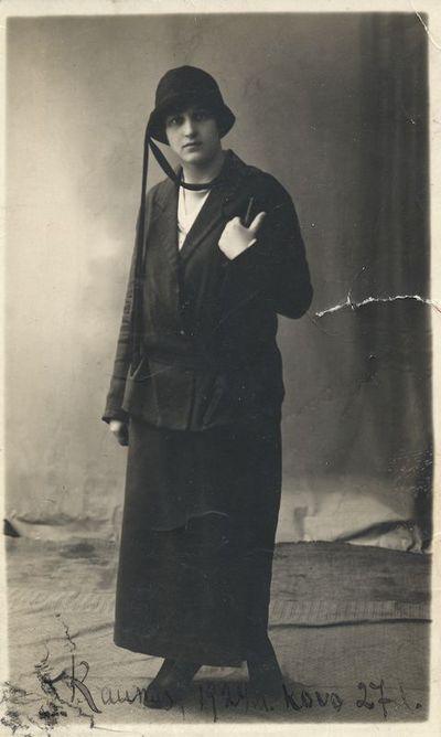 Julijos Lenkevičiūtės portretas