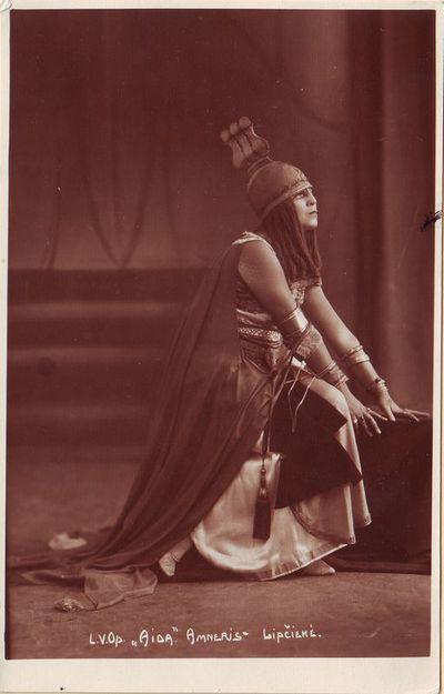 Marija Lipčienė - Amneris Džiuzepės Verdžio operoje Aida
