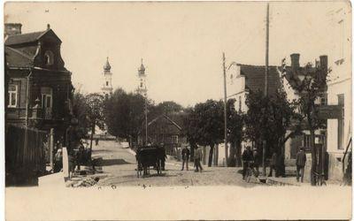 Bažnyčios g. Marijampolėje 1928 m.