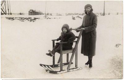 Pulko čiuožykloje 1932 sausis