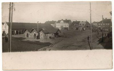 Turgaus aikštė Marijampolėje 1920 m.