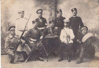 Marijampolės įgulos rusų pulko pėsttininkai 1925 m.