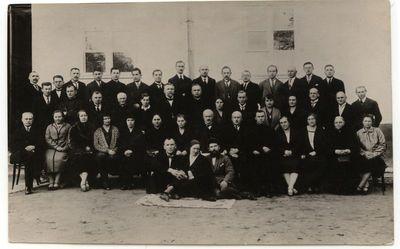 Marijampolės pedagogai 1925-26 m.
